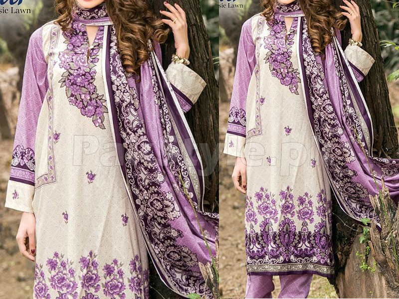 Star Classic Lawn Suit 4016-B Price in Pakistan