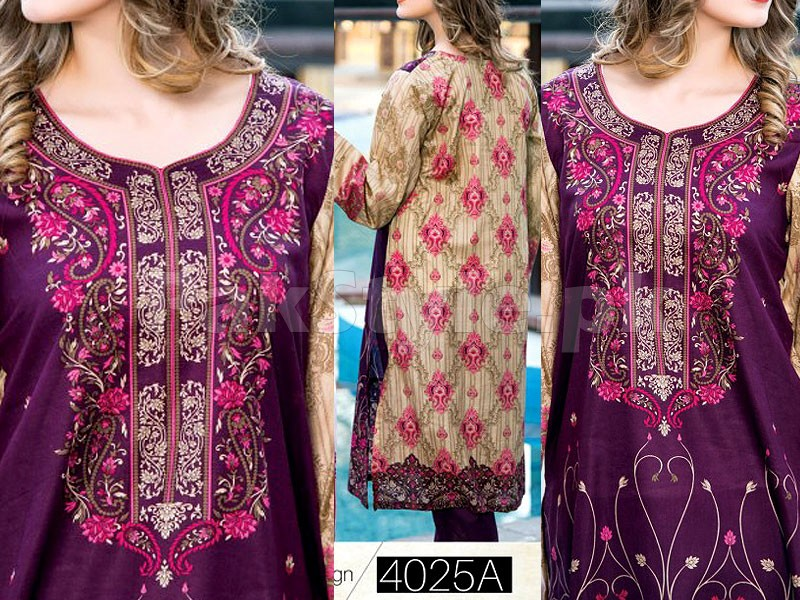 Star Classic Lawn Suit 4025-A