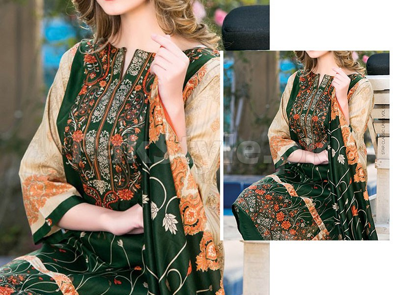 Star Classic Lawn Suit 4025-B Price in Pakistan