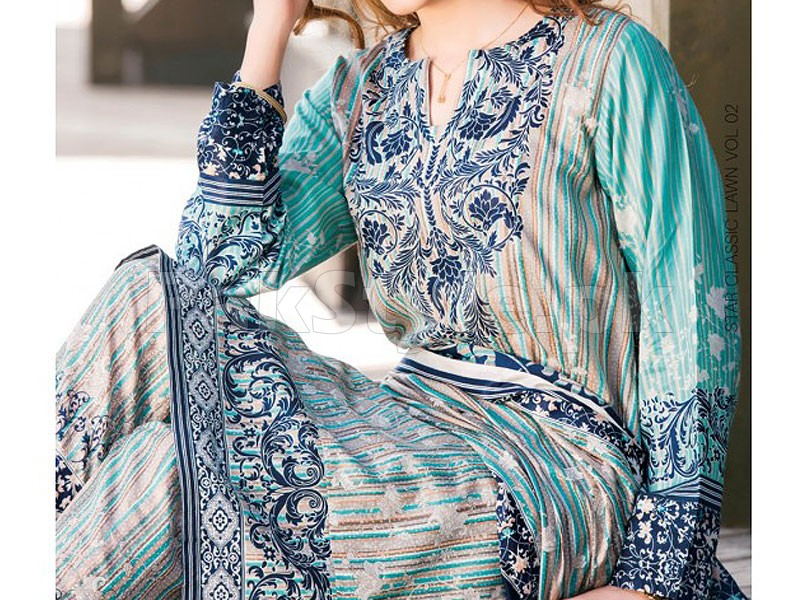 Star Classic Lawn Suit 4028-A Price in Pakistan