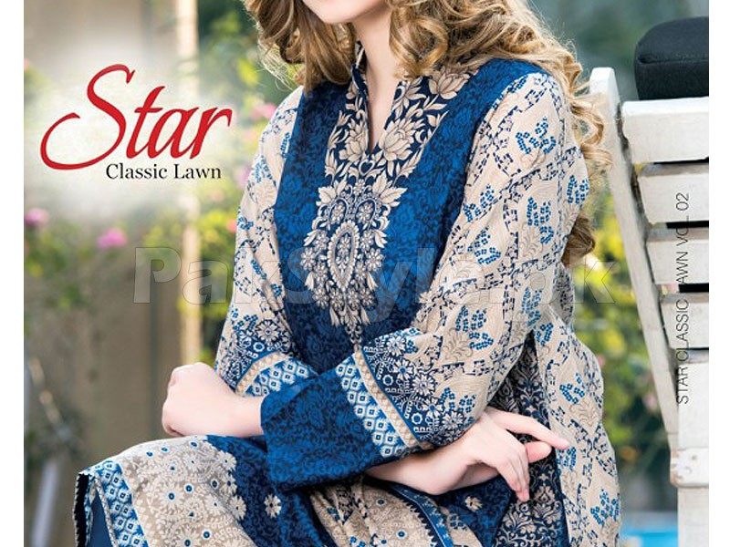 Star Classic Lawn Dress 4029-C Price in Pakistan