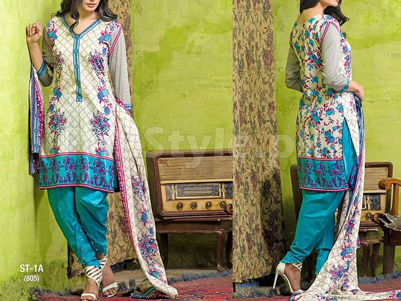 Libas Printed Lawn Suit ST-1A