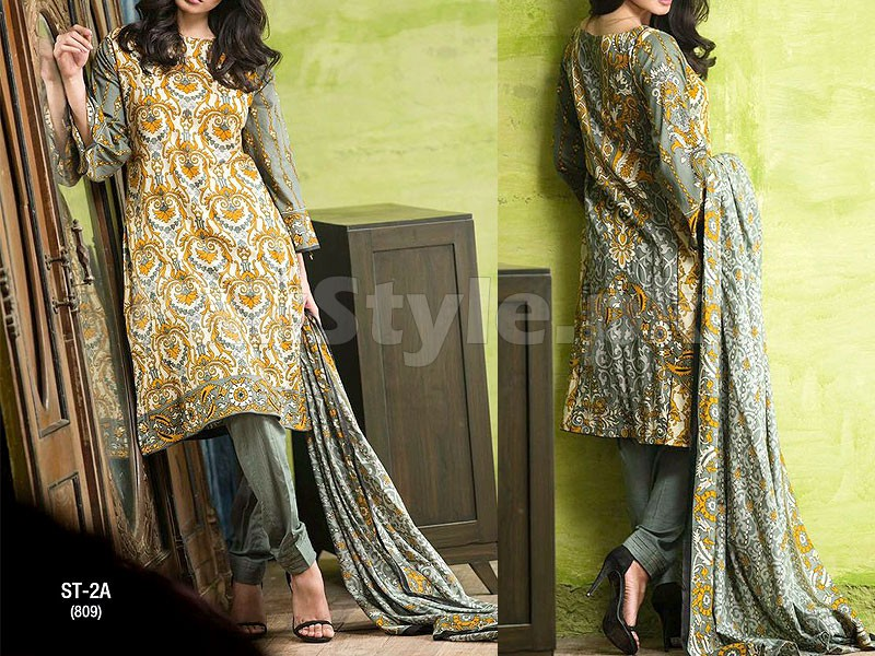 Libas Printed Lawn Suit ST-2A