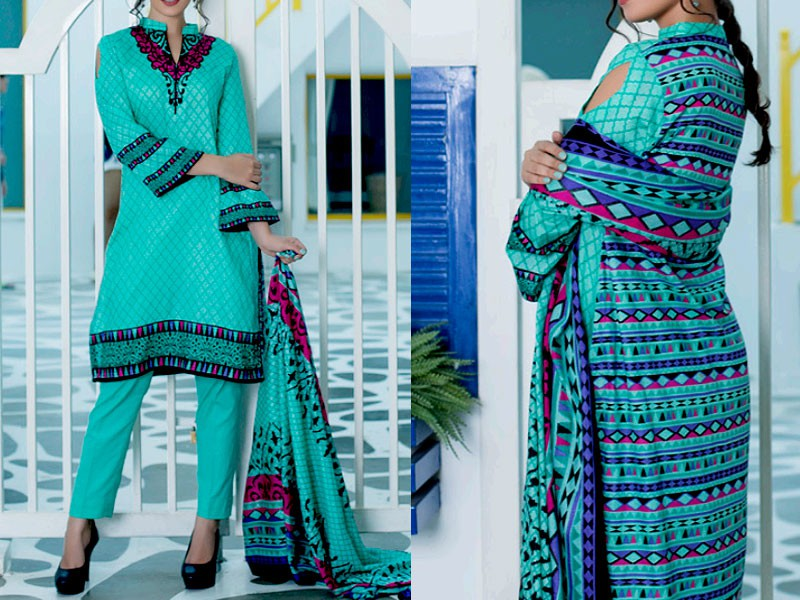 3 Printed Lawn Suits Bundle Pack in Pakistan