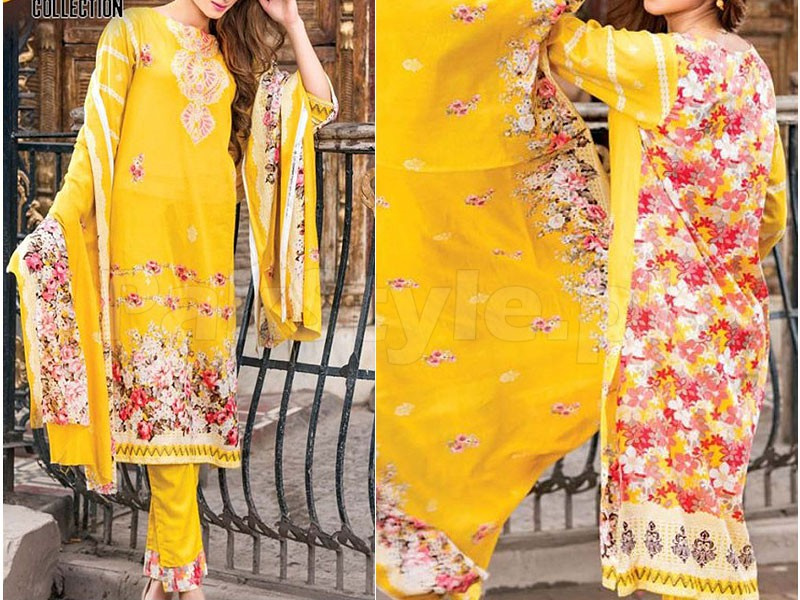 Star Printed Lawn Suit 1013-B Price in Pakistan