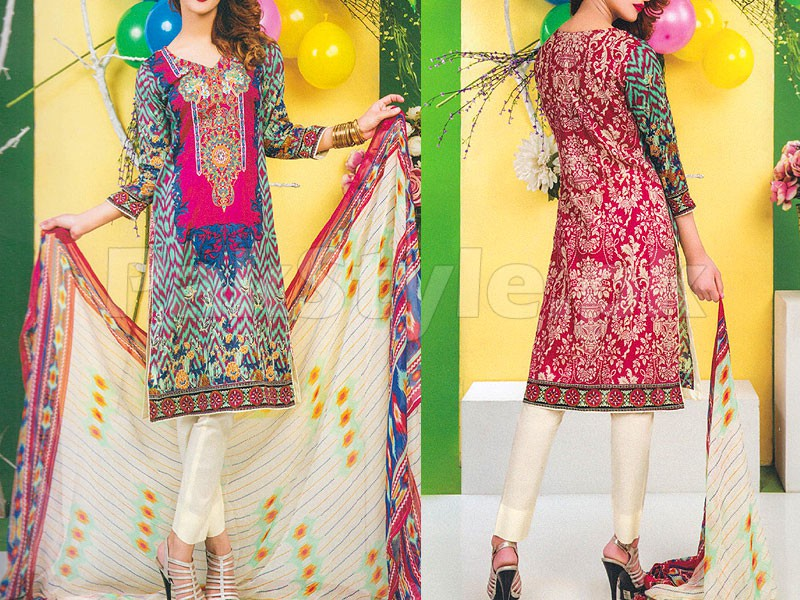 Rashid Classic Embroidered Lawn 1304-B