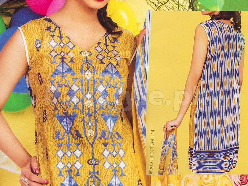 Rashid Classic Embroidered Lawn 1311-A
