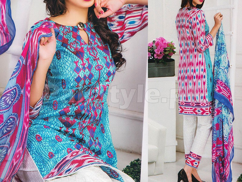 Rashid Classic Embroidered Lawn 1311-B