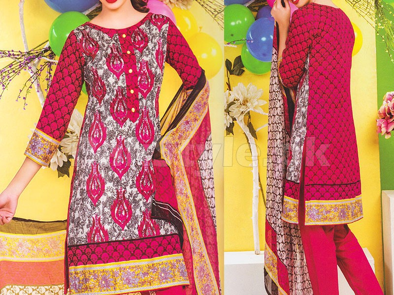 Rashid Classic Embroidered Lawn 1313-A