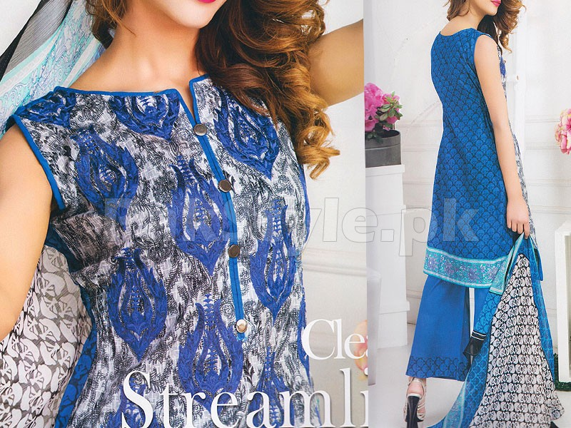 Rashid Classic Embroidered Lawn 1313-B