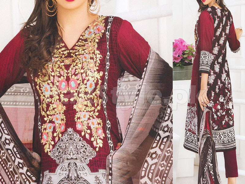 Rashid Classic Embroidered Lawn 1315-A