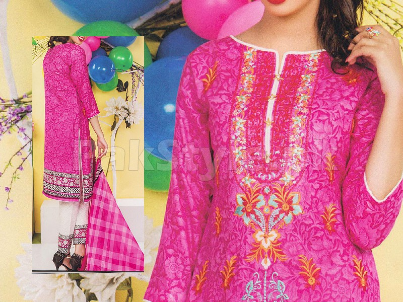 Rashid Classic Embroidered Lawn 1342-A