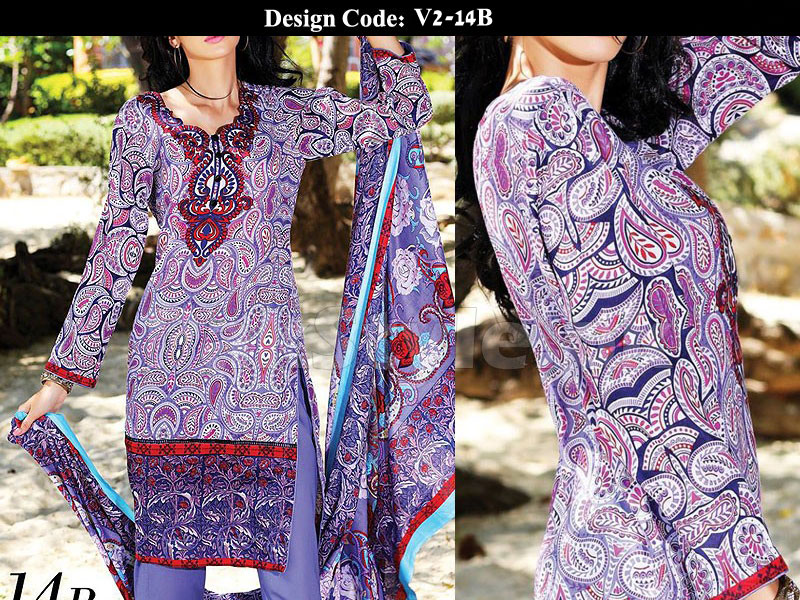 Pack of 3 Printed Lawn Suits of Your Choice in Pakistan