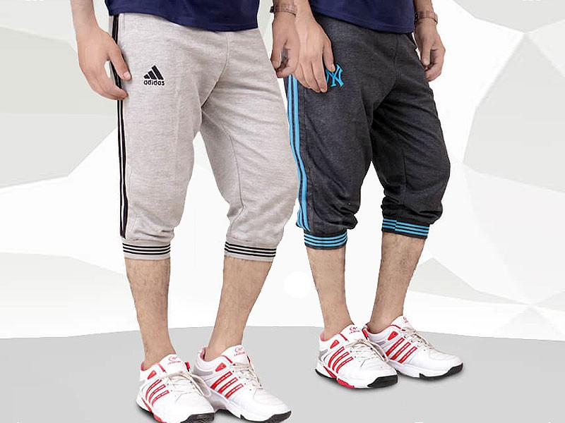 Pack of 2 Adidas & NY Shorts Price in Pakistan