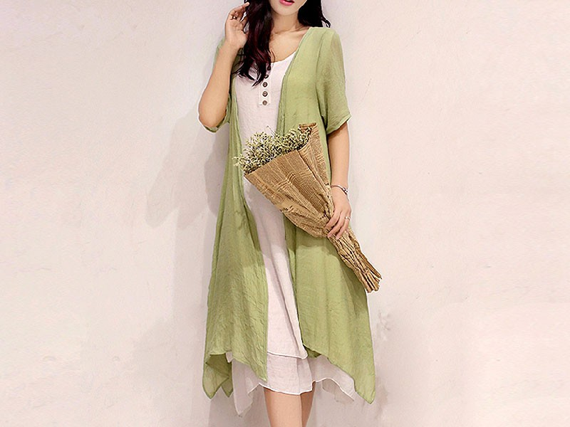 Ladies Green Shrug with Inner Price in Pakistan