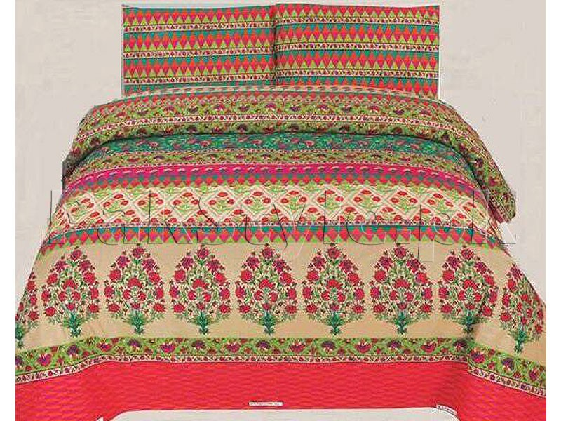King Size PC Bed Sheet with 2 Pillow Covers Price in Pakistan