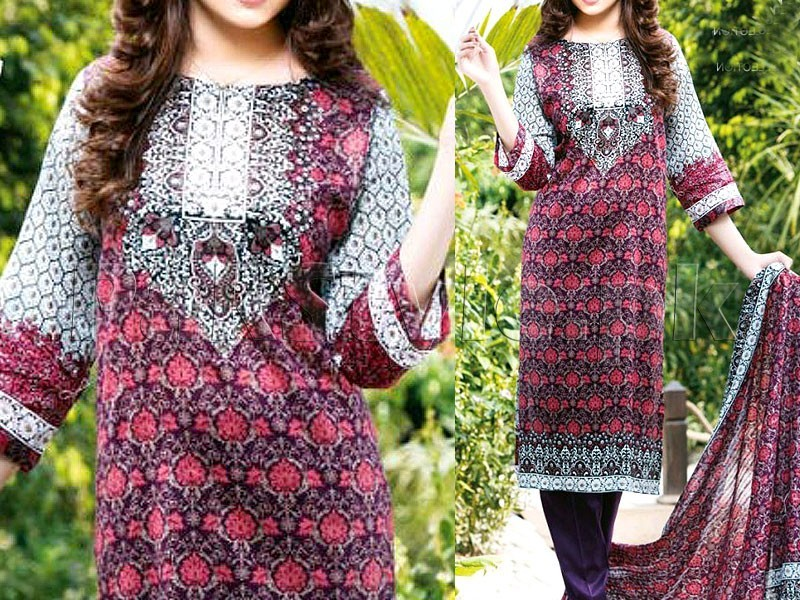 Star Lawn Collection  1018-B Price in Pakistan