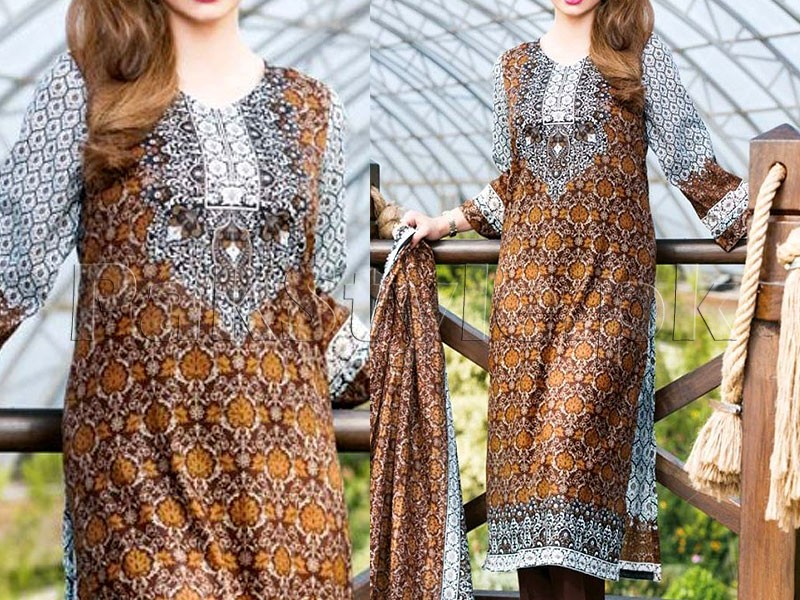 Star Lawn Collection  1018-C Price in Pakistan