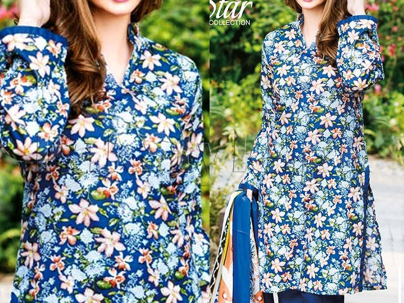 Star Lawn Collection  1020-B