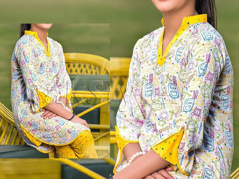 2 Piece Sitara Sapna Printed Lawn Suit 6066-A Price in Pakistan