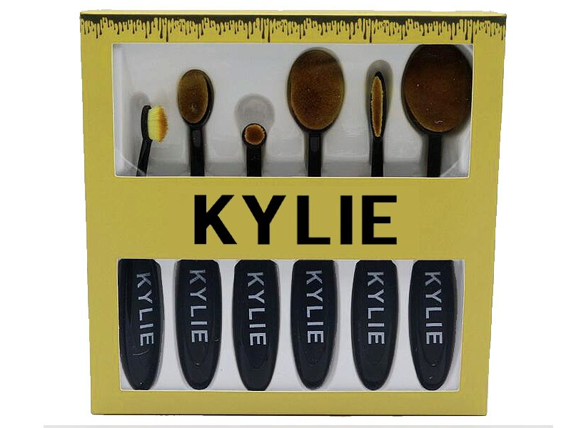 6 KYLIE Makeup Brushes Set Price in Pakistan