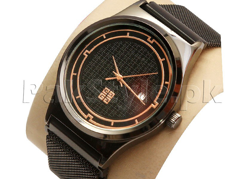 Men's Fashion Watch with Magnet Lock