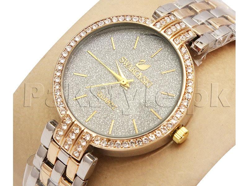 Stylish Ladies Watch - 2 Tone Price in Pakistan (M009564) - Prices ...
