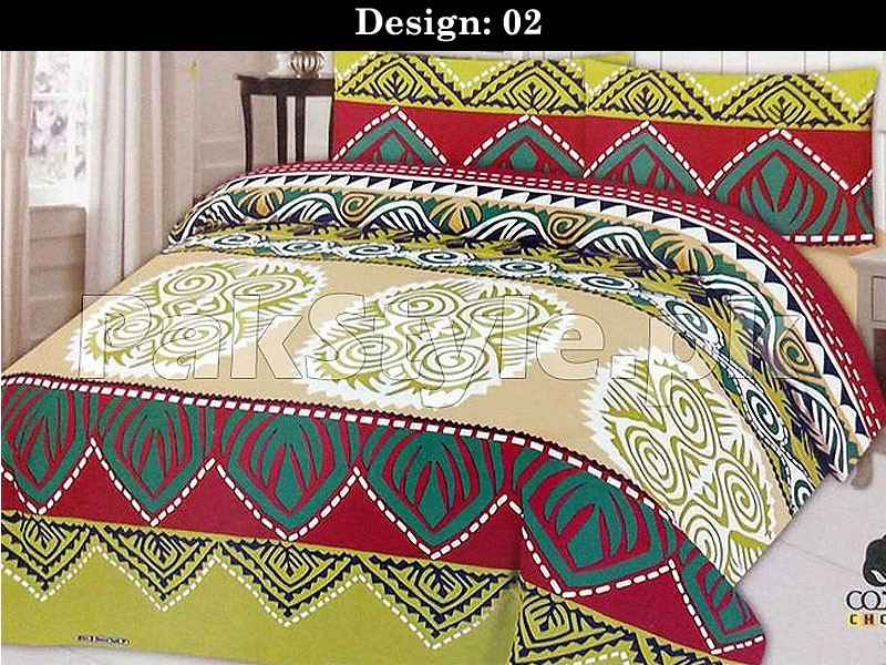 Pack of 3 Bed Sheets of Your Choice in Pakistan
