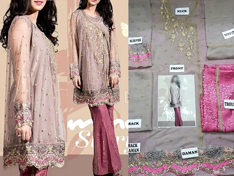 Embroidered Chiffon Suit Price in Pakistan