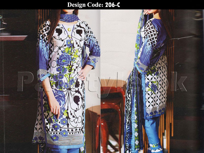 Pack of 2 Abrish Classic Lawn Suits of Your Choice in Pakistan