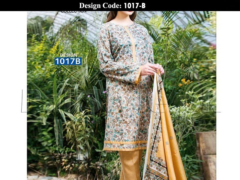 Pack of 2 Star Printed Lawn Suits of Your Choice in Pakistan