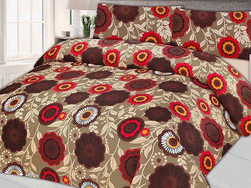 King Size Cotton Bed Sheet with 2 Pillow Covers Price in Pakistan