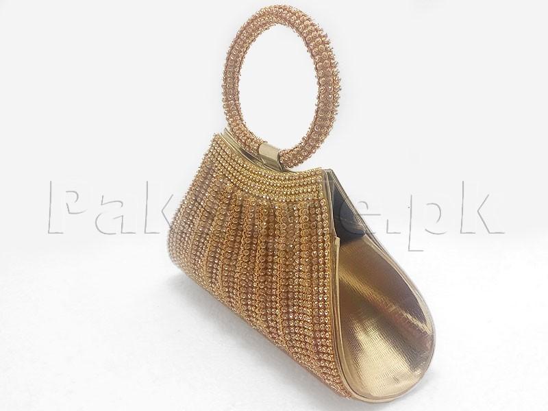 5e93d49b4f8 Fancy Golden Clutch Purse Price in Pakistan (M009705) - 2019 Prices ...