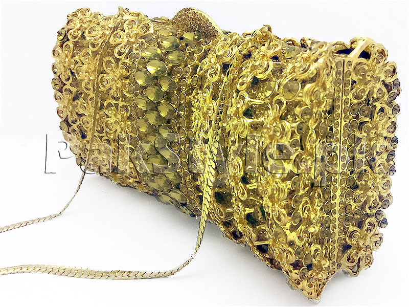 Luxury Rhinestone Bridal Clutch in Pakistan