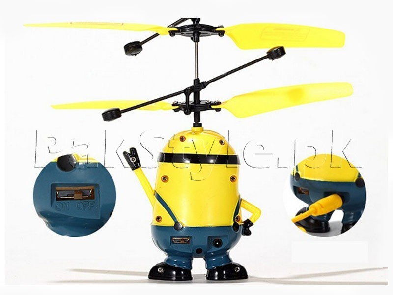 Flying Minion Mini Helicopter