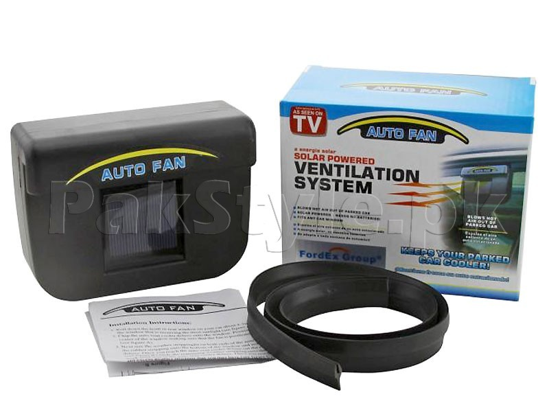 Auto Cool Solar Powered Car Ventilation System