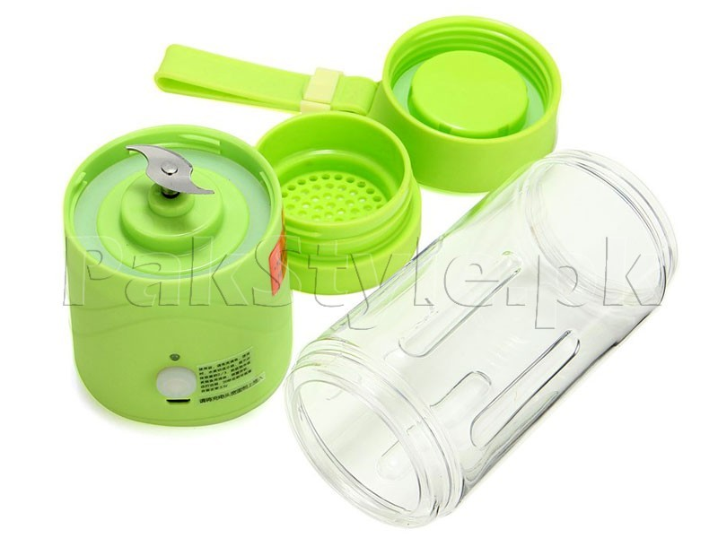 USB Rechargeable Portable Juice Blender in Pakistan