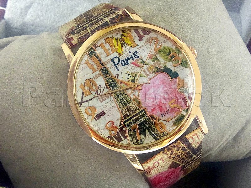 Pack of 2 Paris Design Watches For Girls Price in Pakistan ...