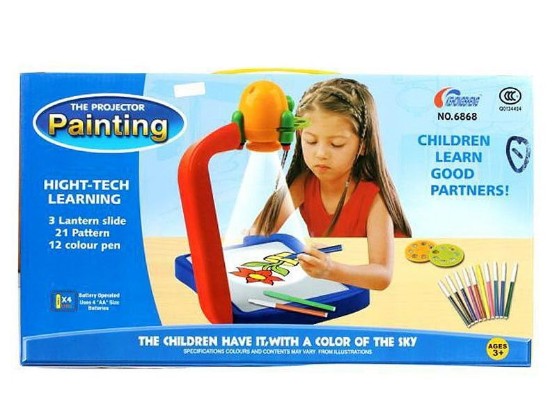 Kids Projector Painting & Drawing Toy