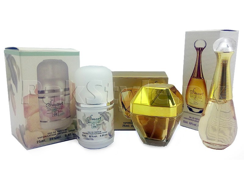 Pack of 3 Perfumes for Women 25 ML