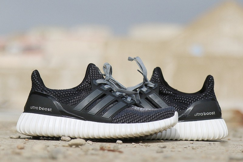 Men's Ultra Boost Running Shoes - Grey