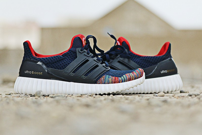 Men's Ultra Boost Running Shoes - Blue Price in Pakistan