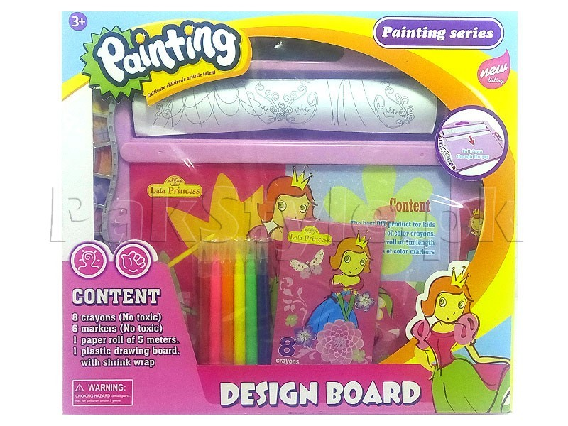 Kids Painting & Design Board Set