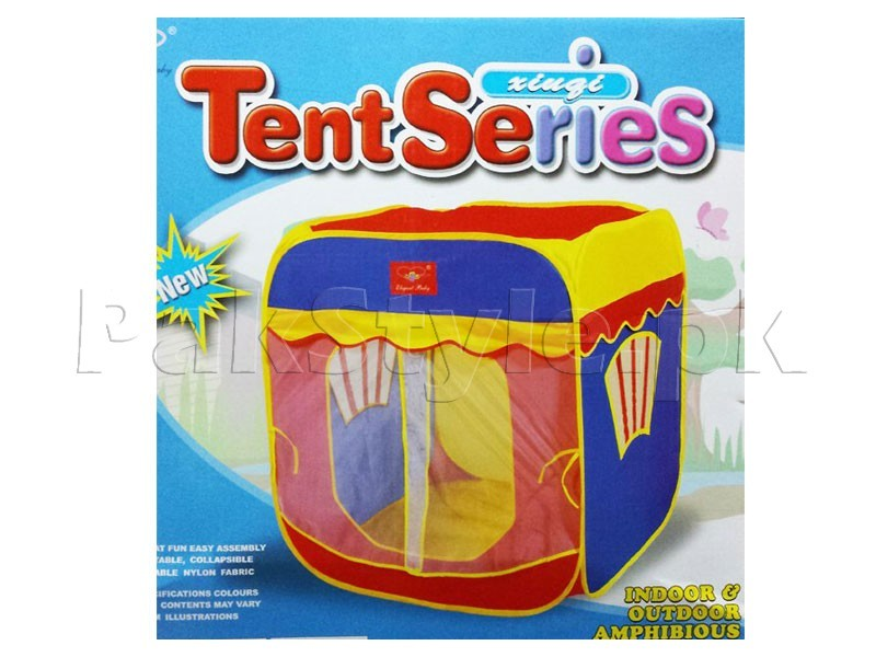 Square Shaped Indoor Play Tent for Kids