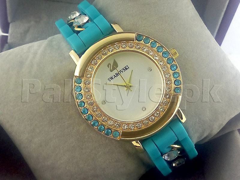 Pack of 2 Girls Watches Silicone Strap in Pakistan