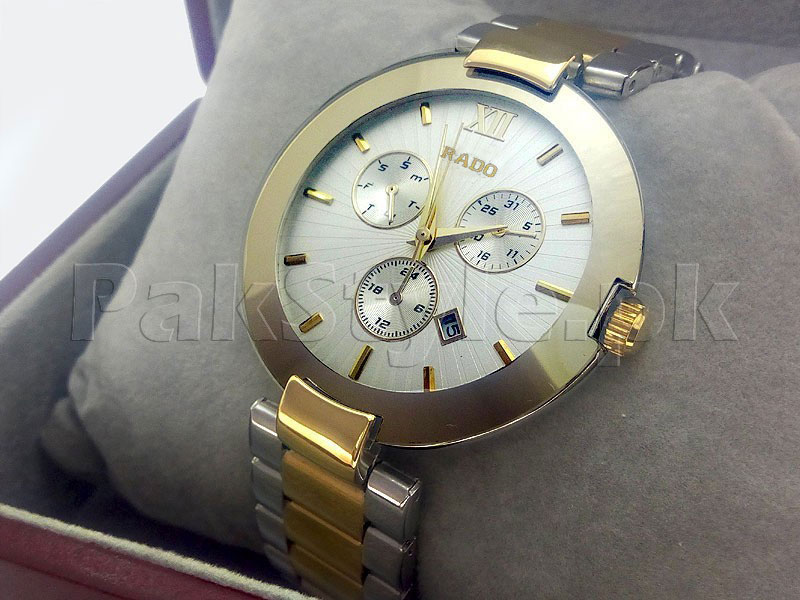 Men's Jubile Watch Two-Tone White Price in Pakistan