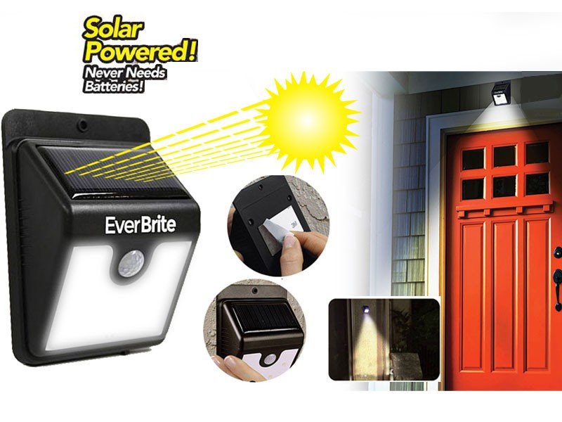 Ever Brite Motion Activated Solar LED Light Price in Pakistan