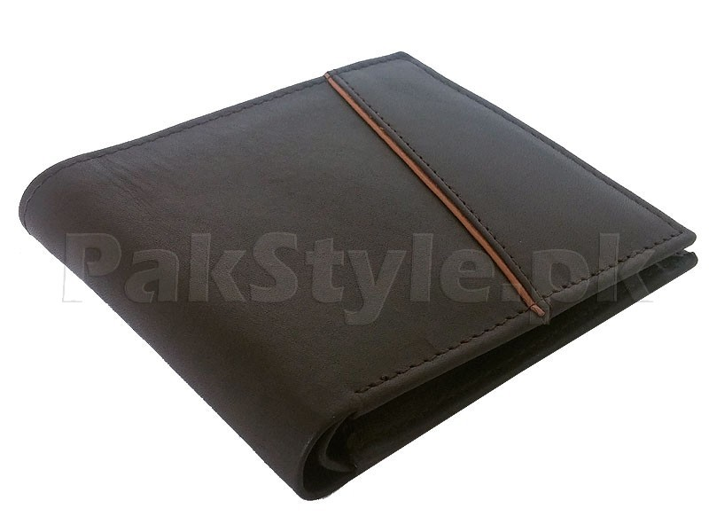 Stylish Brown Genuine Leather Wallet