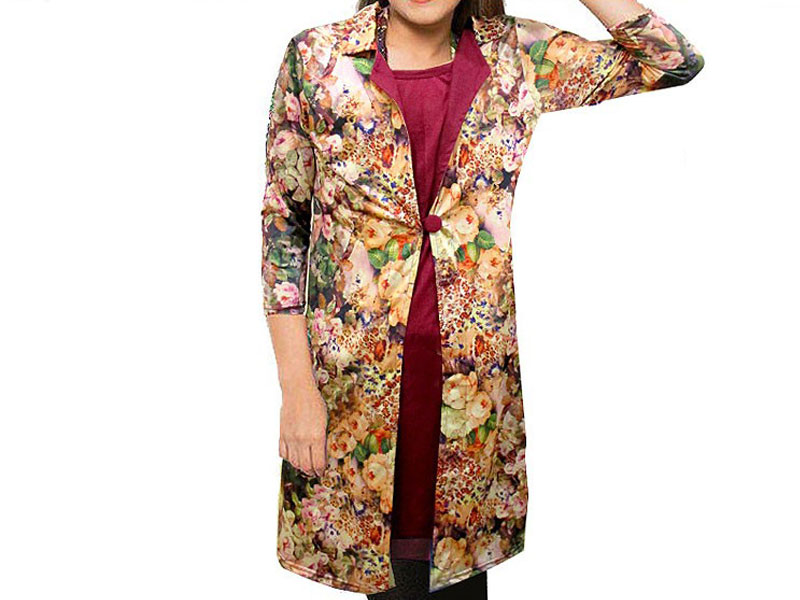 Ladies Shrug Style Floral Top Price in Pakistan
