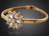Stone Studded Kara Bracelet in Pakistan